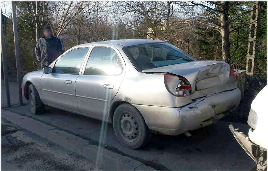 Kolizja samochodów
